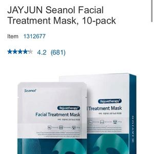 JAYJUN Seanol Facial Treatment Mask, 10-pack